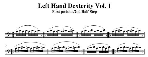 Product picture Fleury Dexterity Manual for Cello Vol 1.pdf